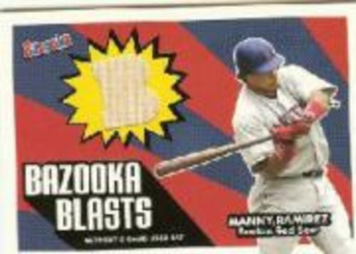 Photo of 2005 Bazooka Blasts Bat Relics #MR Manny Ramirez C