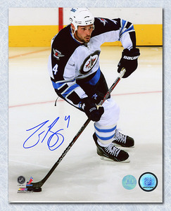 Zach Bogosian Winnipeg Jets Autographed Return to the NHL  8x10 Photo *Buffalo Sabres*