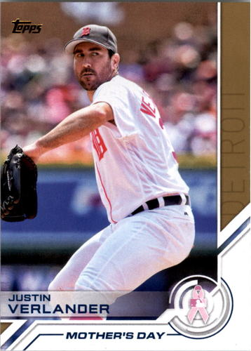 Photo of 2017 Topps Salute #S71 Justin Verlander