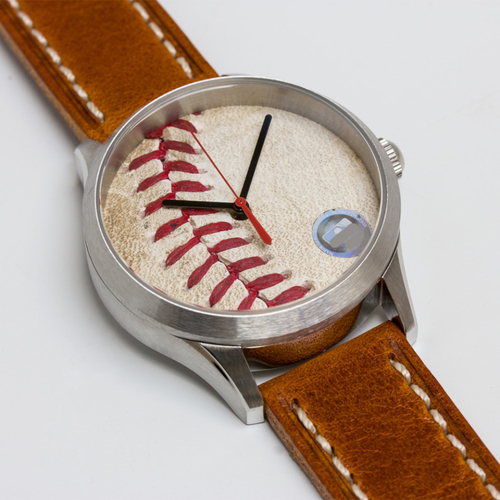 Photo of Tokens & Icons Boston Red Sox 2013 World Series Game-Used Baseball Watch - Game 4