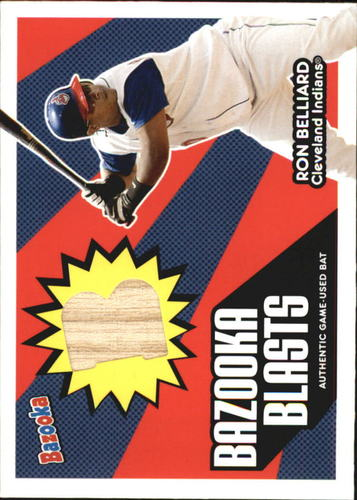 Photo of 2005 Bazooka Blasts Bat Relics #RB Ron Belliard C