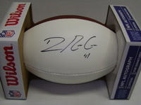 NFL - GIANTS DOMINIQUE RODGERS-CROMARTIE SIGNED PANEL BALL