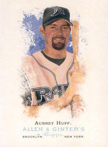 Photo of 2006 Topps Allen and Ginter #2 Aubrey Huff
