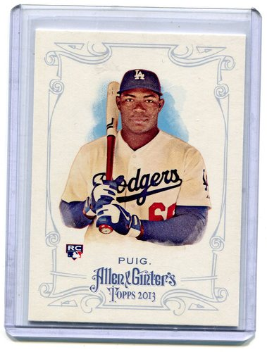 Photo of 2013 Topps Allen and Ginter #44 Yasiel Puig RC