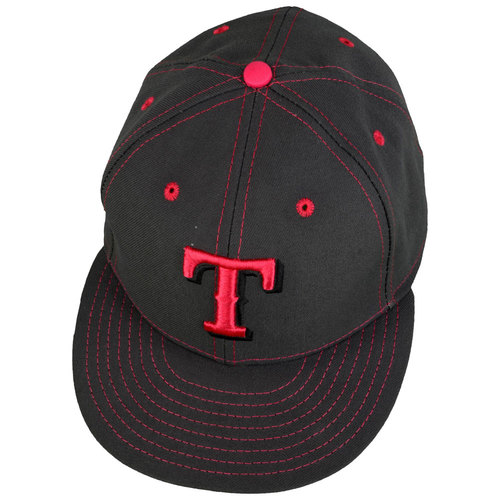 Photo of Texas Rangers #60 Game-Used Mother's Day Cap vs. Detroit Tigers on May 8, 2016 - Size 6 3/4