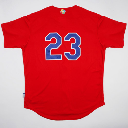Photo of 2017 WBC: Dominican Republic Batting Practice Jersey, #23