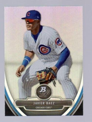Photo of 2013 Bowman Platinum Prospects #BPP10 Javier Baez Pre-rookie Card