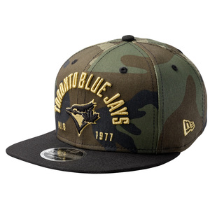 Toronto Blue Jays Establisher Camo Snap Back Cap by New Era