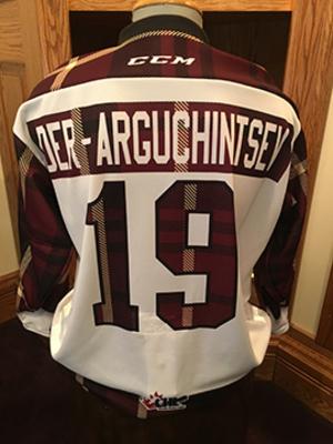 Semyon Der-Arguchintsev (#19) - Game-Worn #PetesPlaidNight Jersey