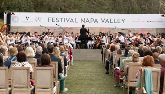 FESTIVAL NAPA VALLEY - EXCLUSIVE FOOD & WINE EVENT - PACKAGE 1 OF 3