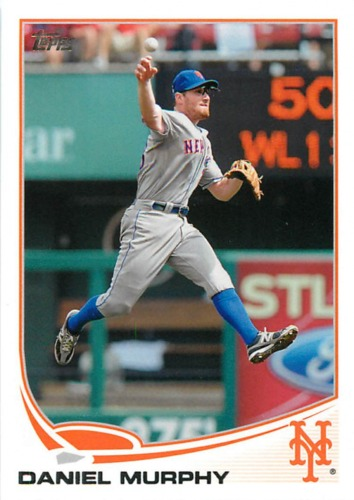 Photo of 2013 Topps #300 Daniel Murphy