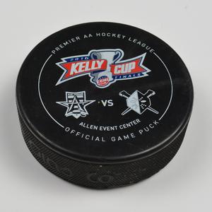 Gary Steffes - Allen Americans - 2016 Kelly Cup Finals - Goal Puck - Game 1 - Goal #8