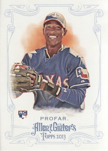 Photo of 2013 Topps Allen and Ginter #156 Jurickson Profar RC