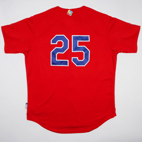 Photo of 2017 WBC: Dominican Republic Batting Practice Jersey, #25