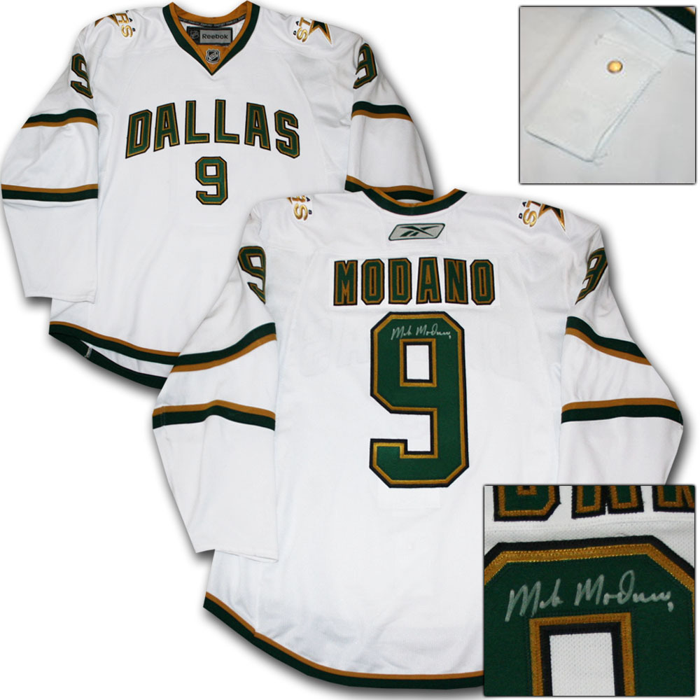Mike Modano Autographed Dallas Stars Authentic Pro Jersey