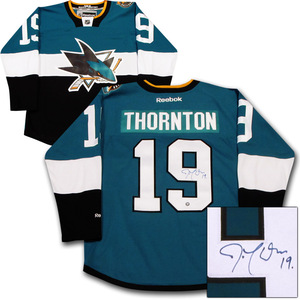 Joe Thornton Autographed San Jose Sharks 2015 NHL Stadium Series Jersey