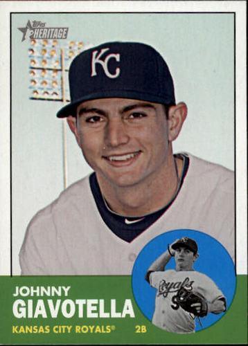 Photo of 2012 Topps Heritage #256 Johnny Giavotella