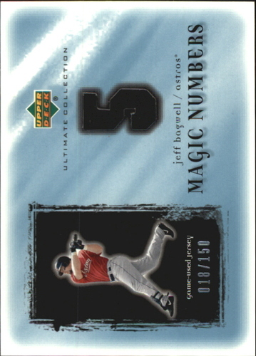 Photo of 2001 Ultimate Collection Magic Numbers Game Jersey #MNJB Jeff Bagwell