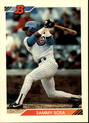 Photo of 1992 Bowman #116 Sammy Sosa