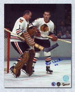 ED VAN IMPE Chicago Blackhawks SIGNED 8x10 Photo