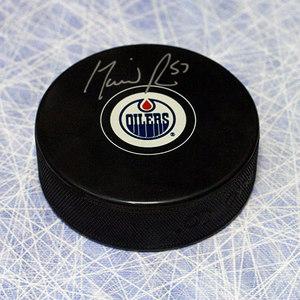 David Perron Edmonton Oilers Autographed Hockey Puck *Anaheim Ducks*