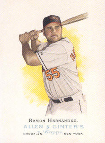 Photo of 2006 Topps Allen and Ginter #11 Ramon Hernandez