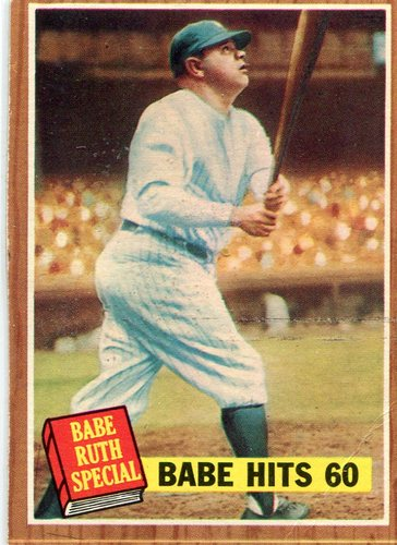 Photo of 1962 Topps #139A1 Babe Ruth Special 5/Babe Hits 60
