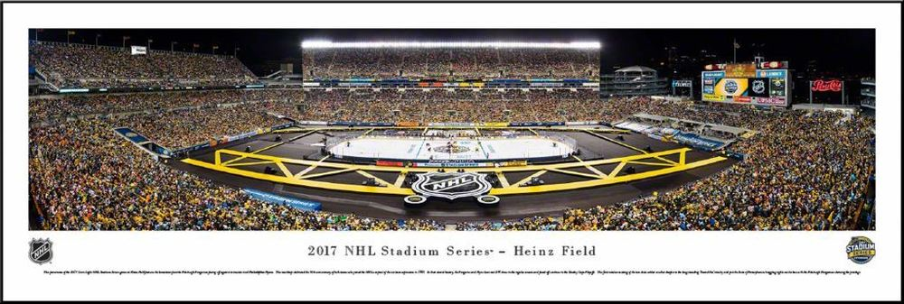 Pittsburgh Penguins Panorama Plaque 2017 Heinz Field Stadium Series