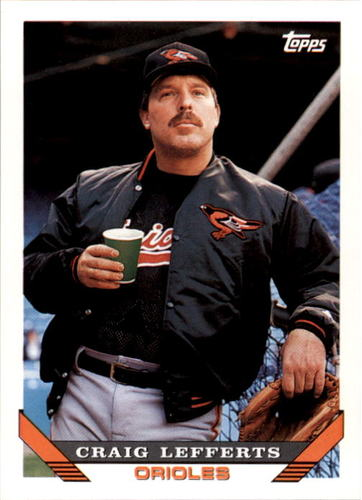 Photo of 1993 Topps #617 Craig Lefferts