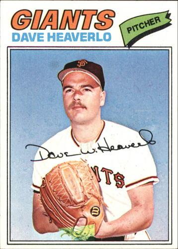 Photo of 1977 Topps #97 Dave Heaverlo