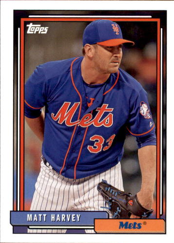 Photo of 2017 Topps Archives #247 Matt Harvey