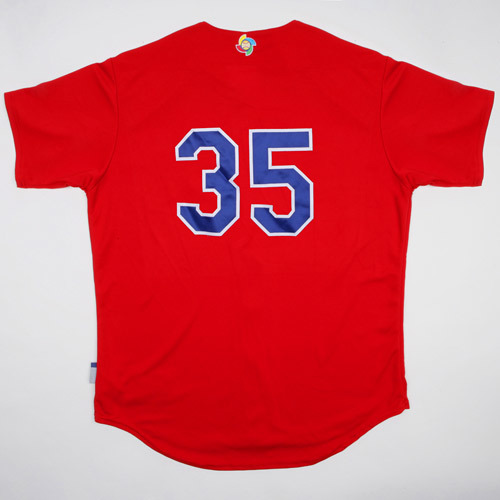 Photo of 2017 WBC: Dominican Republic Batting Practice Jersey, #35