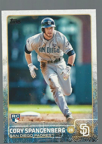 Photo of 2015 Topps #141 Cory Spangenberg RC