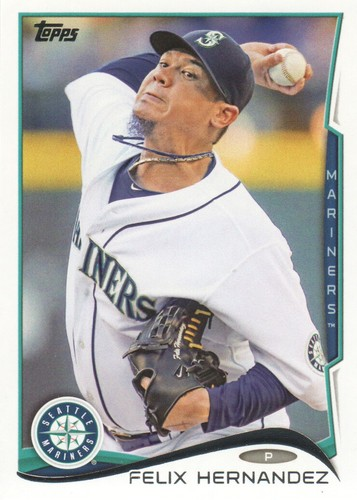 Photo of 2014 Topps #401A Felix Hernandez
