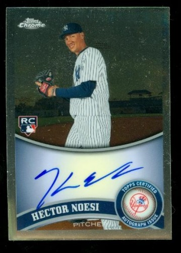 Photo of 2011 Topps Chrome Rookie Autographs #218 Hector Noesi