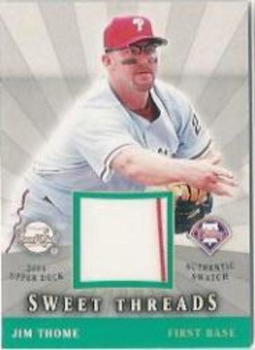 Photo of 2004 Sweet Spot Sweet Threads #JT Jim Thome
