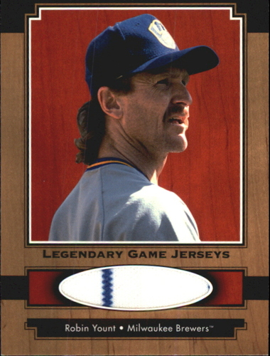 Photo of 2001 Upper Deck Legends Legendary Game Jersey #JRY Robin Yount