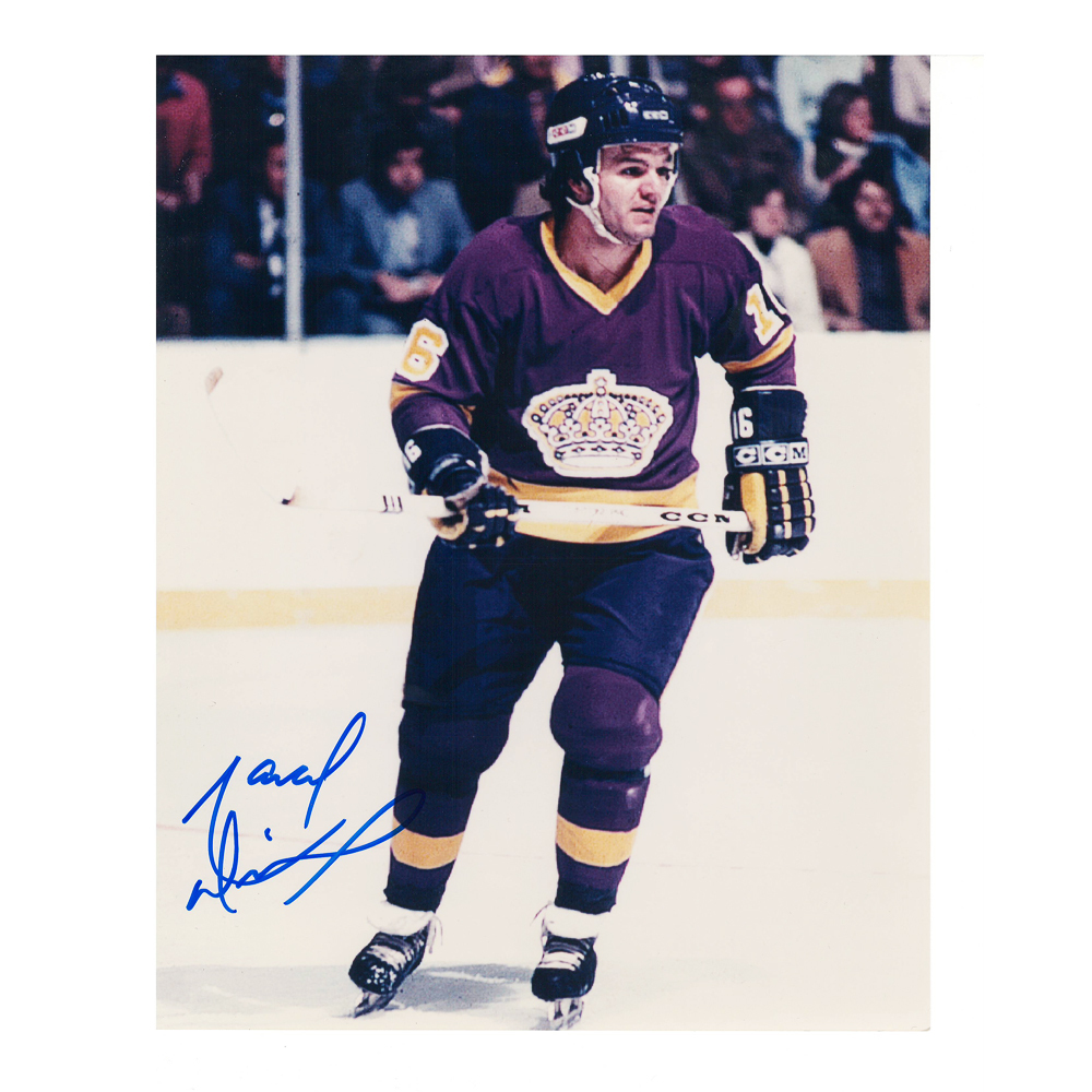 MARCEL DIONNE Signed Los Angeles Kings 8 X 10 Photo - 70045