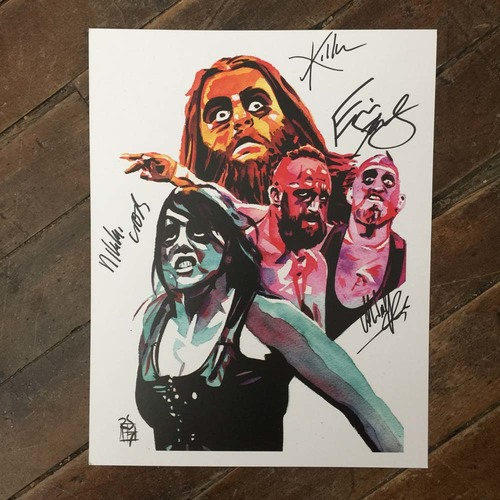Photo of SAnity SIGNED 11 x 14 Rob Schamberger Print