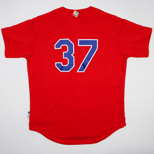 Photo of 2017 WBC: Dominican Republic Batting Practice Jersey, #37