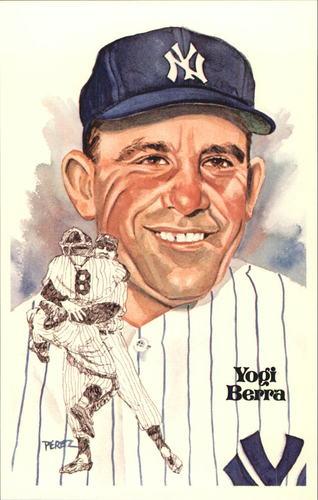 Photo of 1980-02 Perez-Steele Hall of Fame Postcards #127 Yogi Berra -- Set #08689