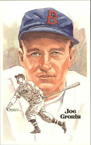 Photo of 1980-02 Perez-Steele Hall of Fame Postcards #80 Joe Cronin -- Set #08689