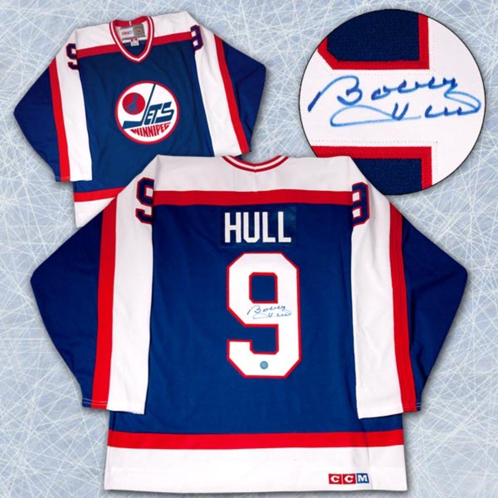 Bobby Hull Winnipeg Jets Autographed Retro CCM Hockey Jersey