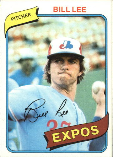 Photo of 1980 Topps #97 Bill Lee