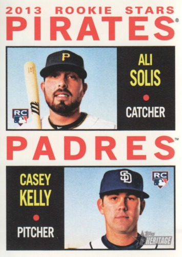 Photo of 2013 Topps Heritage #388 Ali Solis RC/Casey Kelly RC
