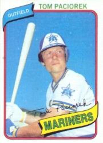 Photo of 1980 Topps #481 Tom Paciorek