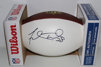 NFL - JAGUARS FRED TAYLOR SIGNED PANEL BALL