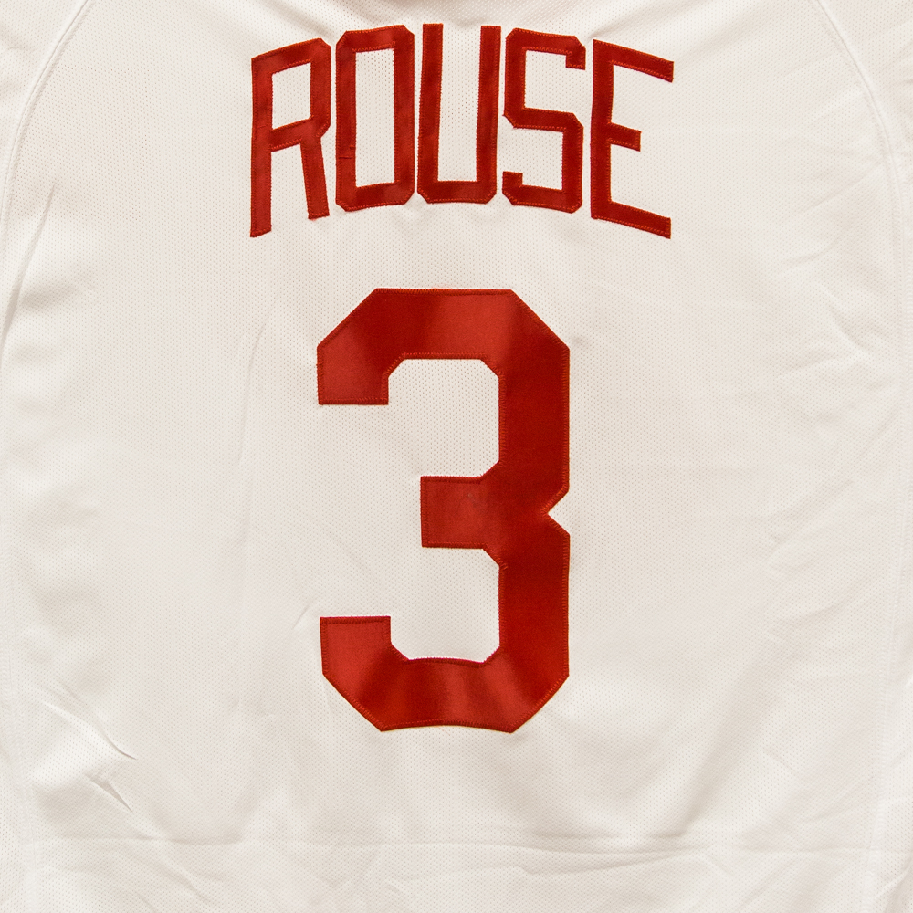 Autographed Bob Rouse Jersey from Nicklas Lidstrom Jersey Retirement Night - Detroit Red Wings