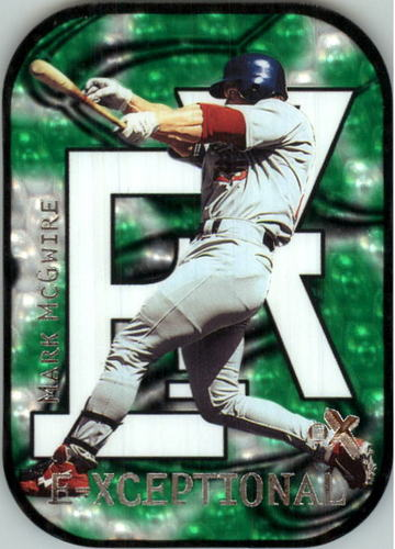 Photo of 2000 E-X E-Xceptional Green #XC4 Mark McGwire
