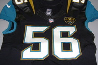 STS - JAGUARS DANTE FOWLER JR. GAME WORN JAGUARS JERSEY (NOVEMBER 13 2016)